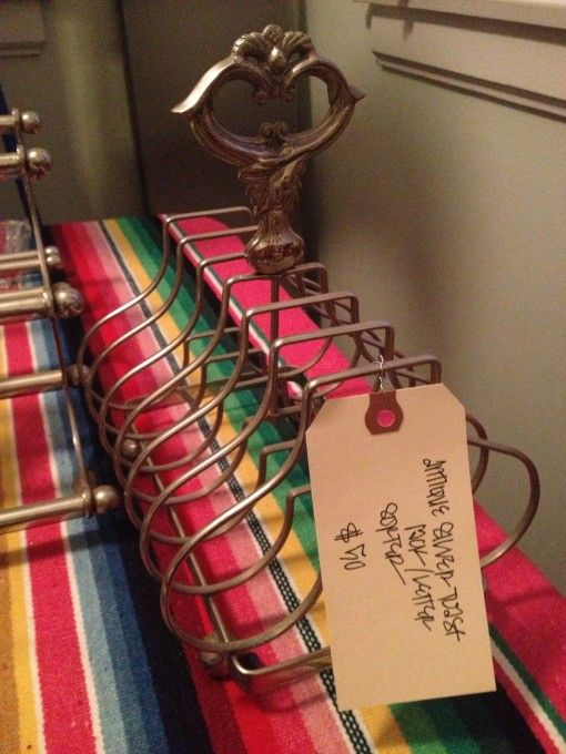 Antique silver Toast Rack for sale $50 | Covet Living
