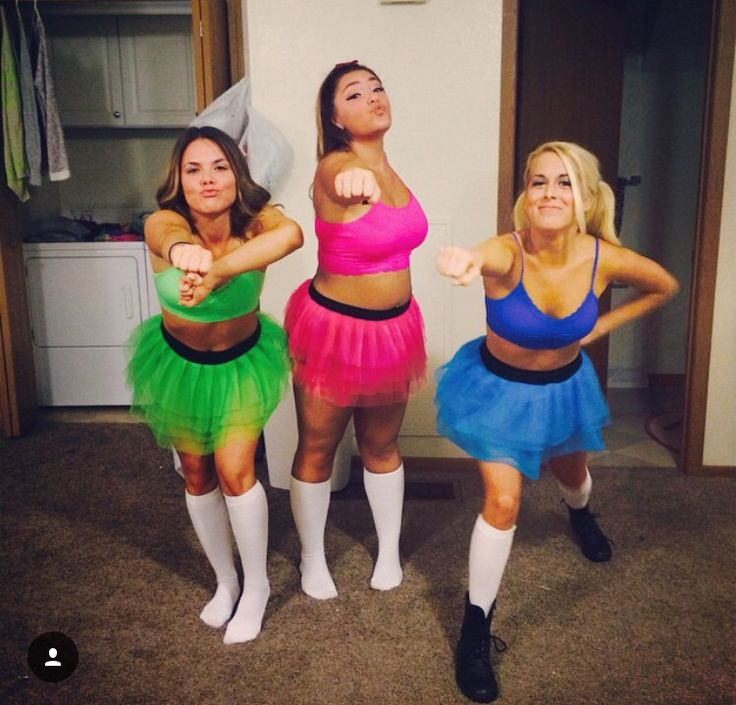 girls adult costumes Powerpuff