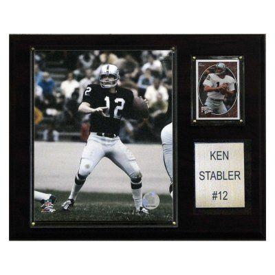 NFL 12 x 15 in. Ken Stabler Oakland Raiders Player Plaque - 1215STABLER