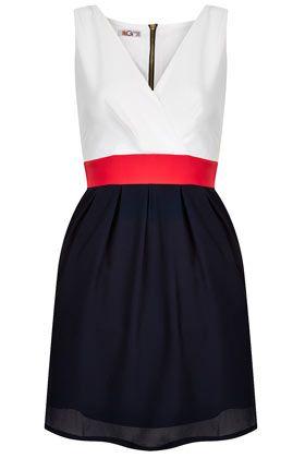 **Cross Bust Block Dress by Wal G