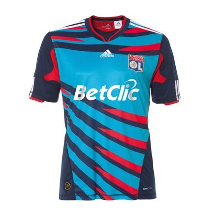 Olympique Lyonnais 2010/11 European jersey | New Soccer Jerseys News