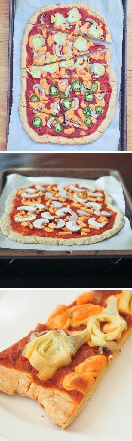 Exclusive Foods: gluten free pizza crust recipe