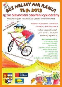 plakát cyklodráha