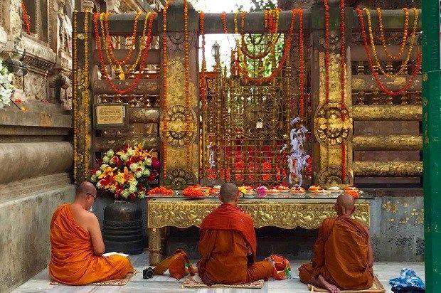 As 8 mais belas viagens de peregrinação religiosa do mundo! Bodh Gaya, Índia