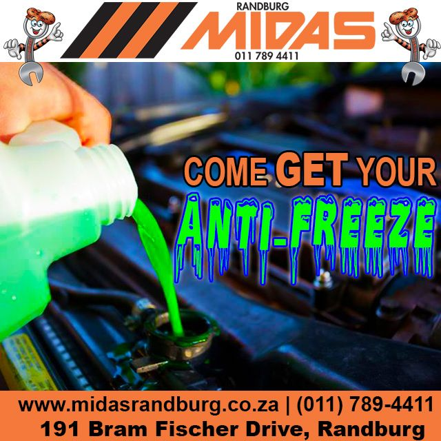 When last did you change or top-up your car's #antifreeze? #Winter #CarCare http://bit.ly/239Jxsv