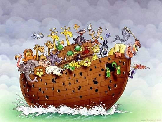 We still love these hilarious Noah's ark cartoons [19 hilarious pictures]
