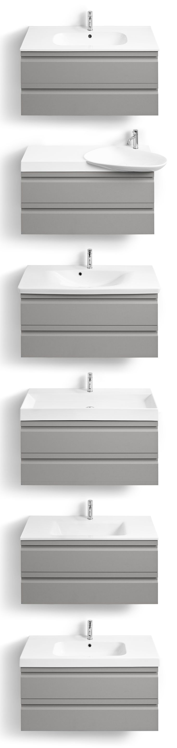 Zaro washbasin and vanity units - your choice!