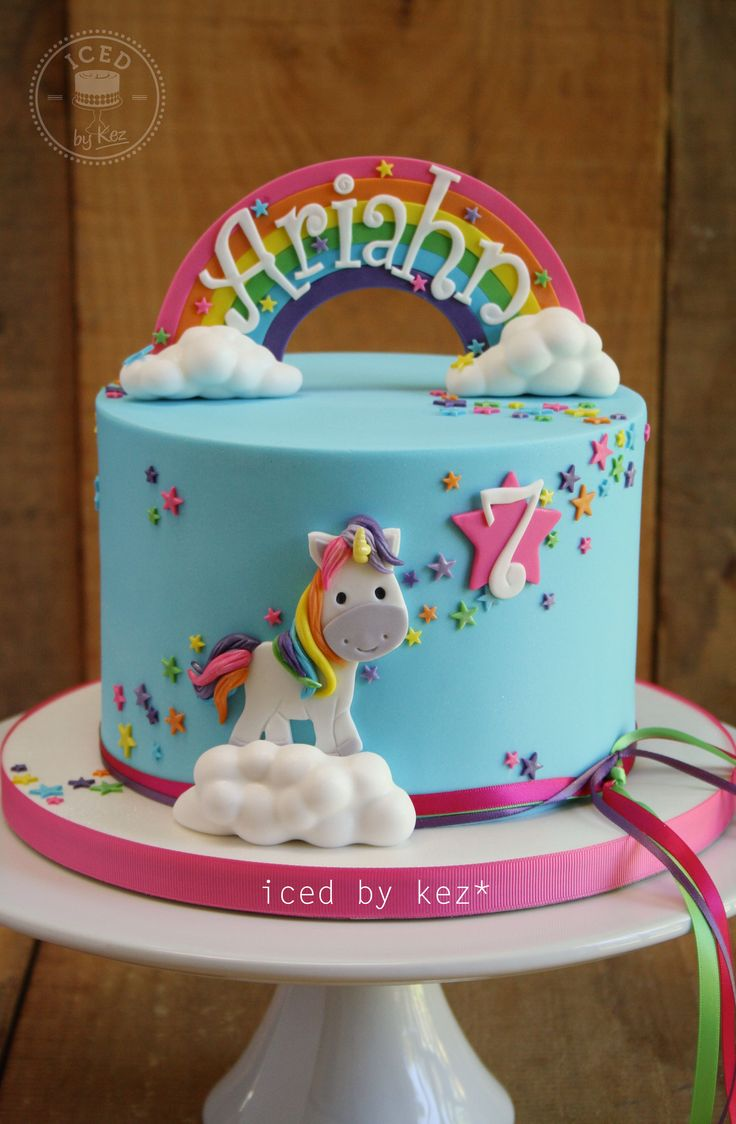 Decorating A Unicorn Cake