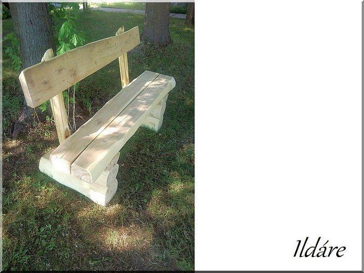 rönkbútor, akácfa bútor