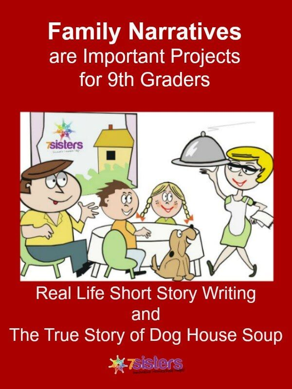 Real Life Short Story Writing For 9th Grade And Dog House Soup