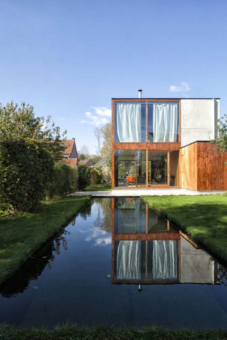 Single Family Residence in Wijgmaal by Open Y Office (multidisciplinary design studio based in Ghent)
