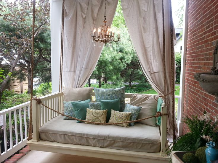 17 Best images about Porch swinghanging idea