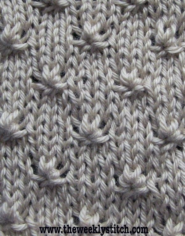How to knit the Knot Stitch. You will be p3tog/k3tog/p3tog for this pattern; knitting looser than normal if you are a tight knitter, or using pointy tip needles may make it easier to knit this stitch. For written instructions and more info, visit the bl. Stitch, Knot,