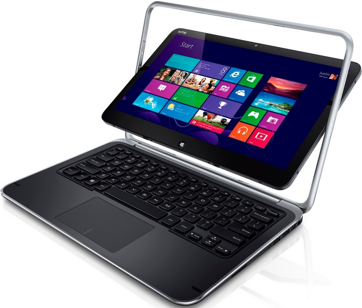 #Dell XPS 12 - Un nouvel #ultrabook hybride tactile tournant sous #Windows8 !