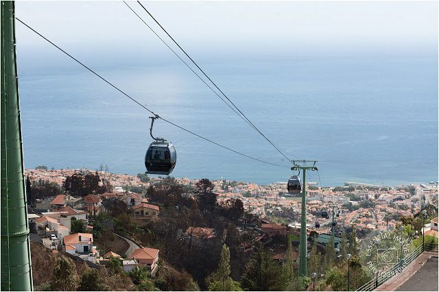 The amazing cable car ride in Funchal, Madeira.  Prepare to be amazed.