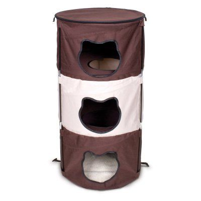 Ware Manufacturing Pop Up 3 Level Kitty Condo - 11032
