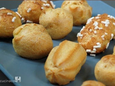 Pasta choux bignè - YouTube