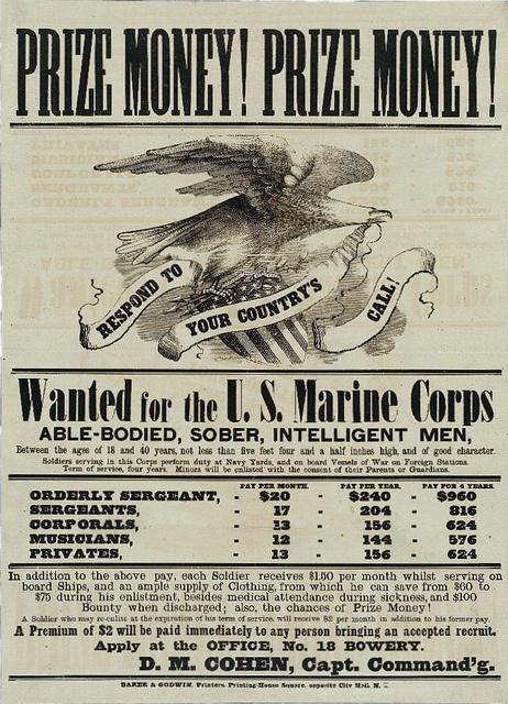 USMC Recruiting Poster