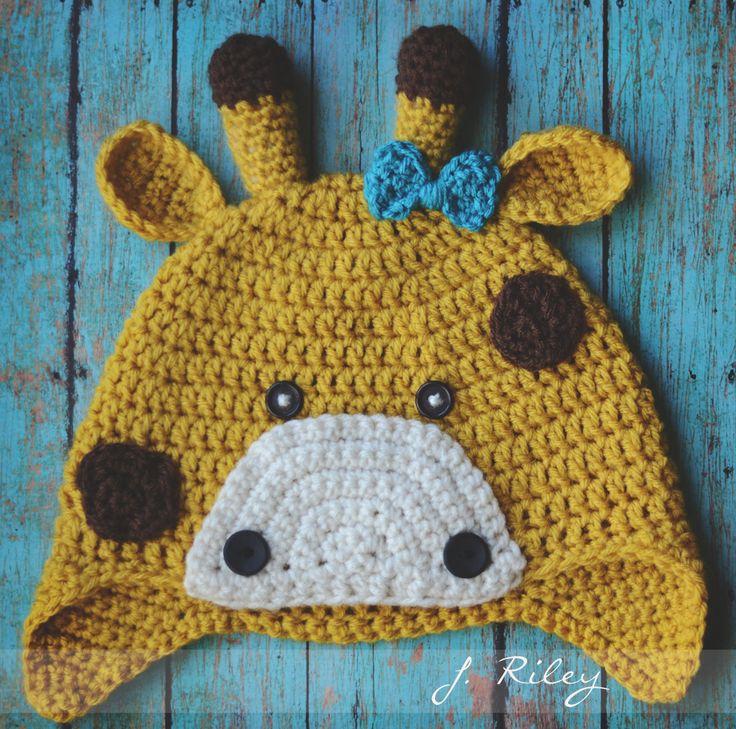 Amazing Giraffe Crochet Hat Pattern Pattern Easy Scarf Knitting