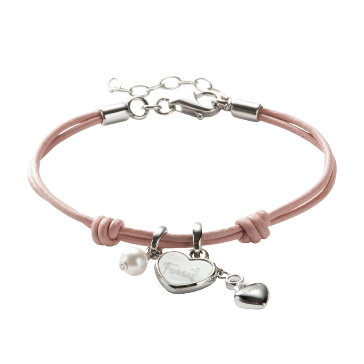 Who wants to make me a little present for christmas? :) love that bracelet!   FOSSIL® Jewellery Charms :Women Stainless Steel Bracelet JF85717