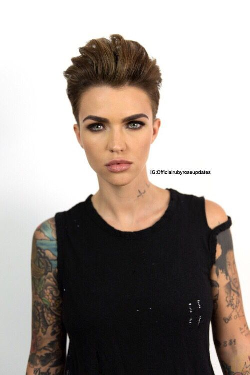 150 Best Images About Ruby Rose Purrrrr On Pinterest