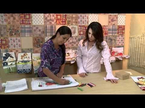 Pintura em tecido  com giz de cera;;;pode acreditar rapidezimo e fica lindo\\ confira video aula e contatos\\   Pintura em tecido com giz de cera \\