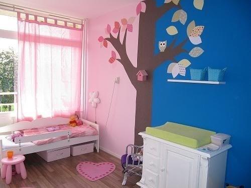 Gedeelde kamer baby en peuter kinderkamer pinterest babies - Kamer jongensmeisje ...