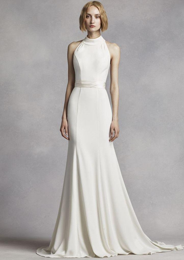 Best 25 halter wedding dresses ideas on pinterest wedding high neck halter wedding dress keep up with the kardashians with a high neck junglespirit Choice Image