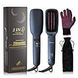 Review for Straightening Brush, eNilecor Ceramic Ionic Hair Brush Straightener Heating Anti... - Lisa Riemersma - Blog Booster
