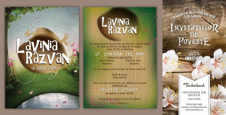 Timberland - Wedding Invitation - www.yankoo.ro