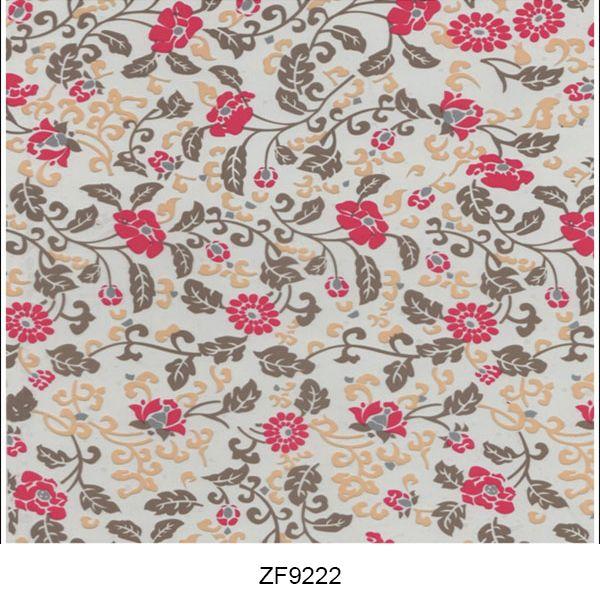 Hydro printing film flower pattern ZF9222