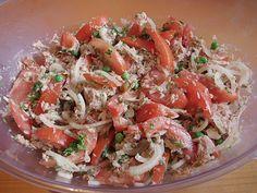 Illes leichter und leckerer Thunfisch - Tomaten - Salat, ein leckeres Rezept aus der Kategorie Raffiniert & preiswert. Bewertungen: 123. Durchschnitt: Ø 4,4.