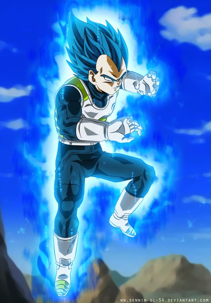 Training - Vegeta Ultra Blue - Dragon Ball Super by SenniN-GL-54.deviantart.com on @DeviantArt