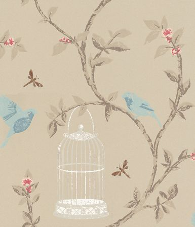 Birdcage Walk wallpaper by Nina Campbell