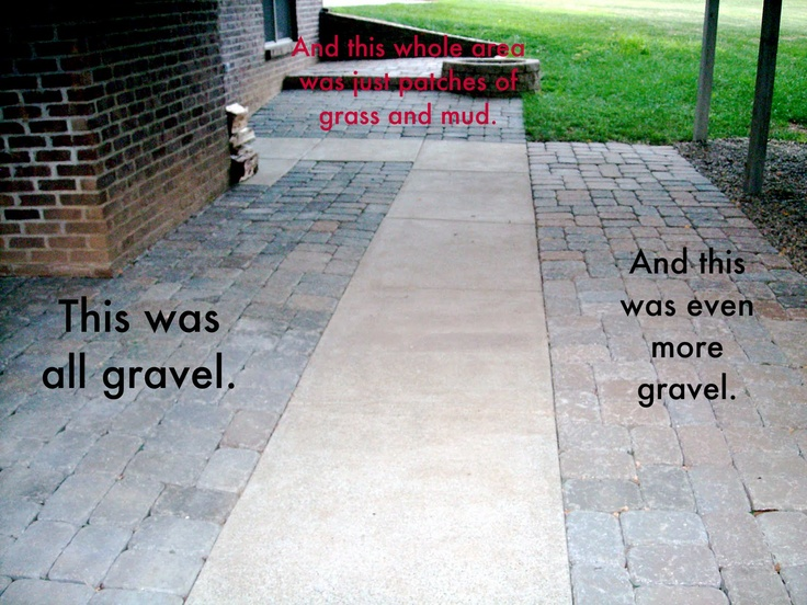 Extending Concrete Patio With Pavers | House Stuff Outside | Pinterest | Concrete  Patios, Patio And Fall On