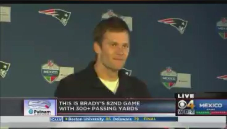 Tom Brady Was Asked If His Jersey Was Safe In Mexico And Gronk Doesn't Disappoint In Interview