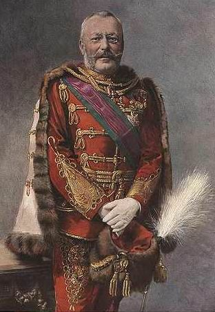 Archduke Friedrich as a general of cavalry