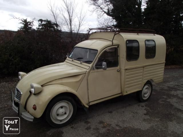 Photo Vente 2 Cv Fourgonnette De 1976 Image 1 4 2cv Citroen