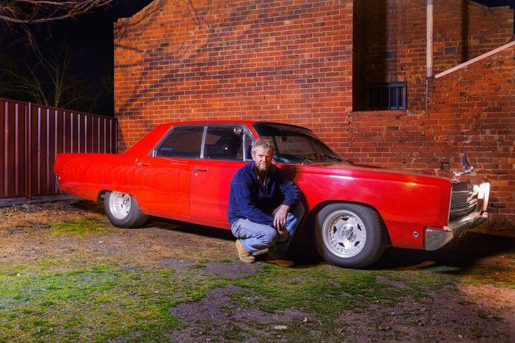 Shoot 2-My dad, Darren Hodge with his 1968 Dodge Phoenix