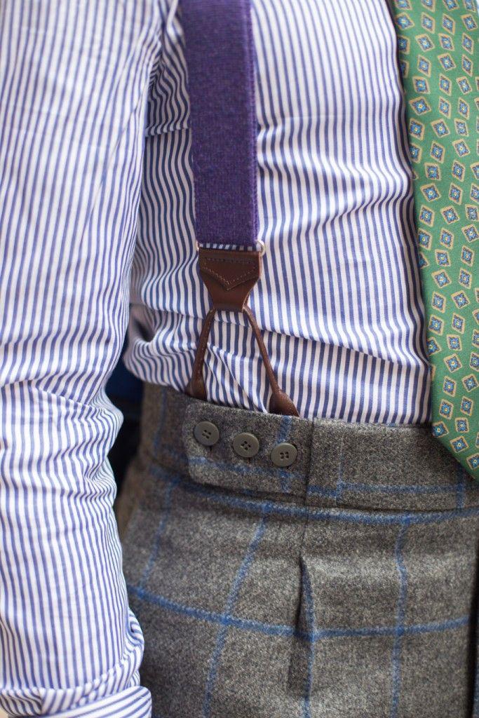 Sastreria Langa (Madrid) - waistband detail