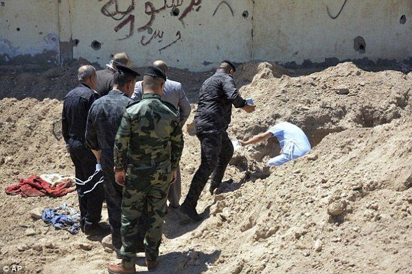 Tea time with Cladora: Police in Iraq discovers Two mass graves by ISIS