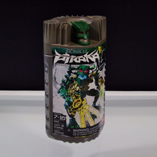 2006-LEGO-Bionicle-Piraka-Zaktan-The-Snake-8903-Incomplete-For-Parts
