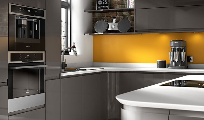 sofia graphite kitchen wickes shaped kitchens cover three walls they can good way get