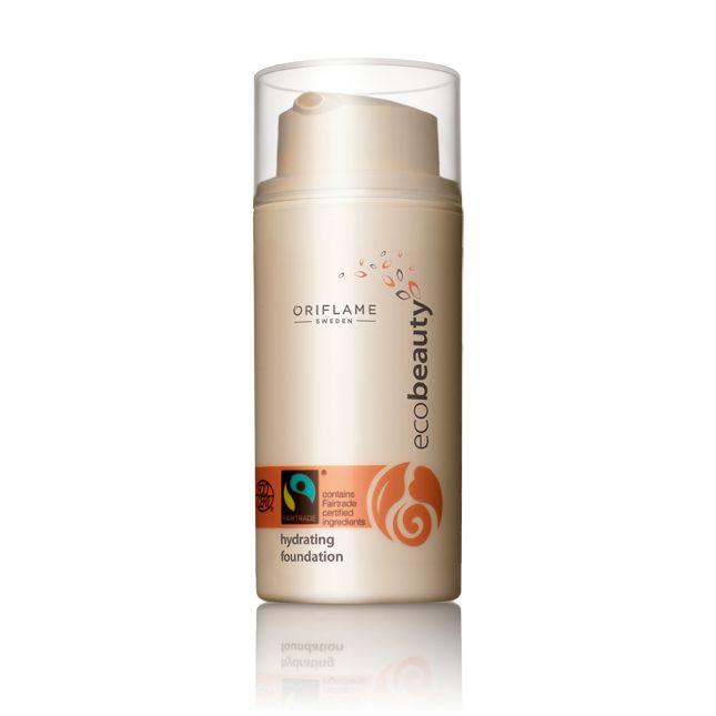 Nawilżający podkład Oriflame Ecobeauty #oriflame moisturising  foundation Eco