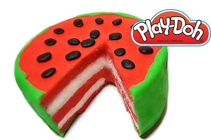 Play Doh Torta di Anguria, Play Doh Watermelon Cake