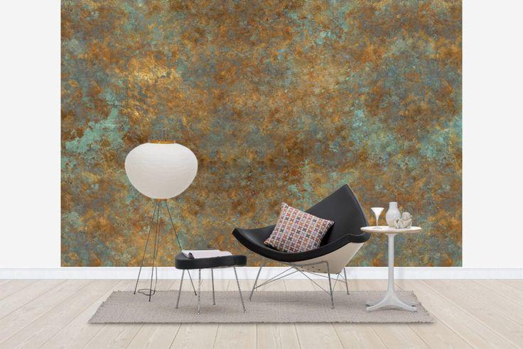 Vintage Bronze Background - Tapetit / tapetti - Photowall