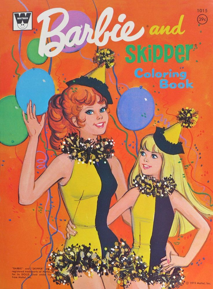 Barbie Coloring Book 1960s