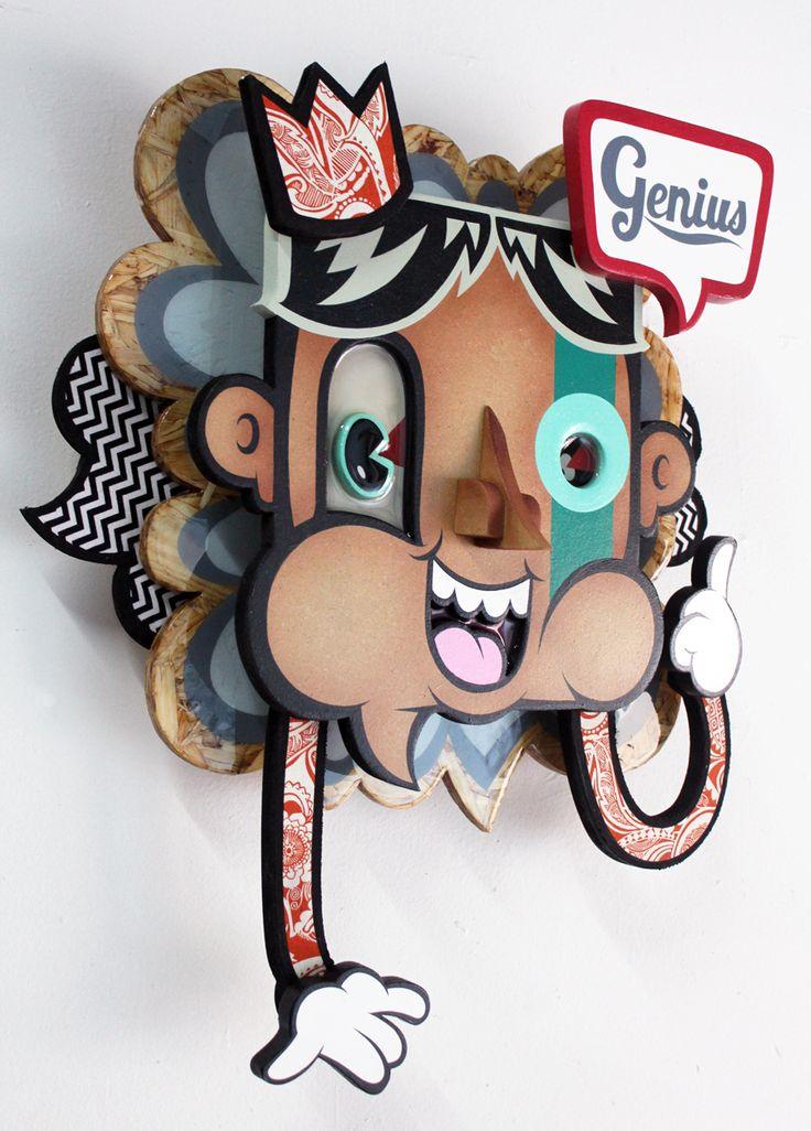 ALEX YANES http://www.widewalls.ch/artist/alex-yanes/ #popart #urbanart