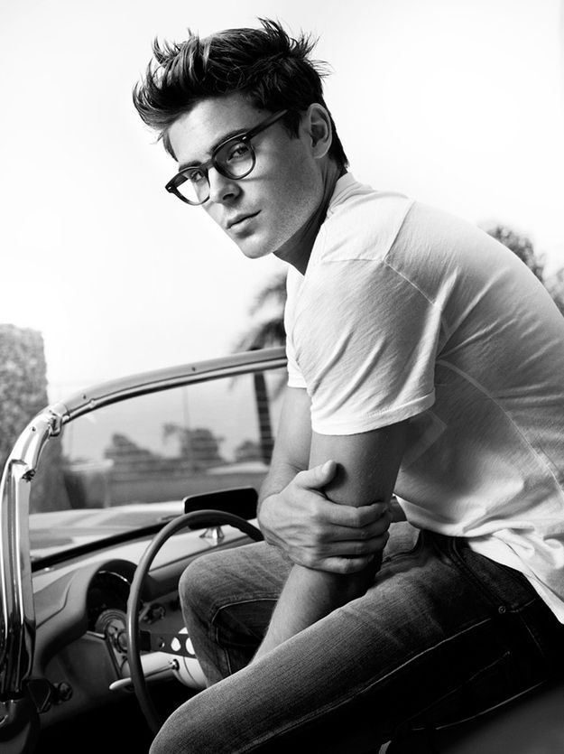 The 25 Absolute Best Pictures Of Zac Efron On The Internet | he looks so much like James Dean here...