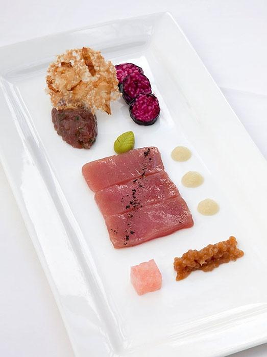 Smoked Tuna Sashimi Style